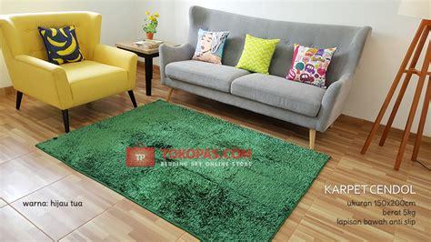 Karpet Warna Hijau karpet cendol murah grosir