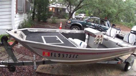 new 12 foot jon boat for sale 16 foot river boat youtube