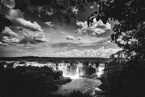 imagenes hd blanco y negro fondo de pantalla de cataratas iguaz 250 cascadas