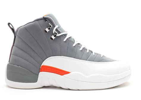 Air 12 Retro Grey air 12 retro quot cool grey quot cool grey white team