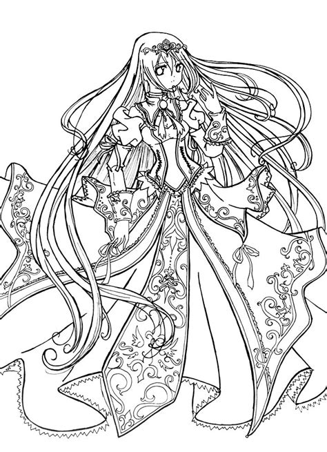Anime Coloring Pages For Adults Bestofcoloring Com Realistic Princess Coloring Pages For Adults Free Coloring Sheets