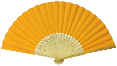 Paper Folding Fans - folding paper fan 8 25 quot cantaloupe