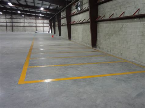 Warehouse Floor by Warehouse Floor Striping Orlando Painters Llc