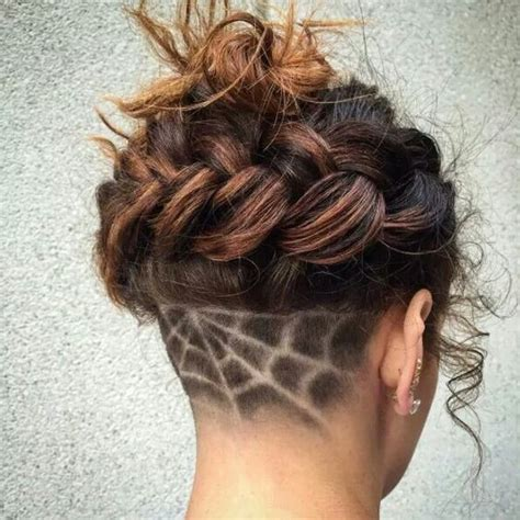 haircut designs spider web spider web undercut hair designs for the most bold and