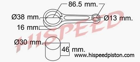 Connecting Rod Stang Seher Honda Supra 125 Helm In daftar connecting rod stang seher motor honda seputar