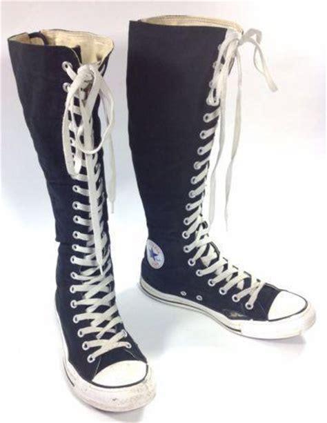 converse knee high boots ebay