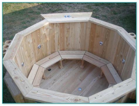 bathtub jacuzzi kit cedar hot tub kit