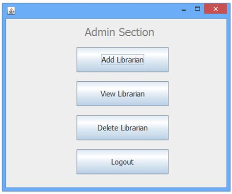 layout manager javatpoint library management system in java swing project javatpoint