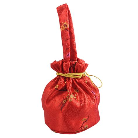 new year bag new year gold silk gift bags pouches