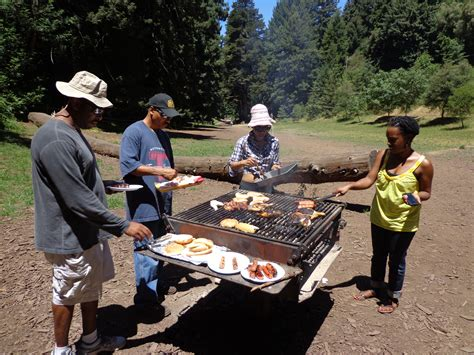 celebrating black month outdoors in oakland