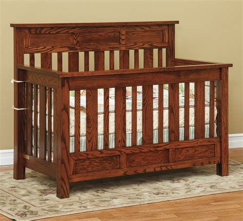 hudson convertible crib hudson convertible crib amish made crib in pa locally