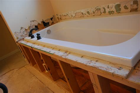 how to tile bathtub bathroom demo day 1 tell er all about it