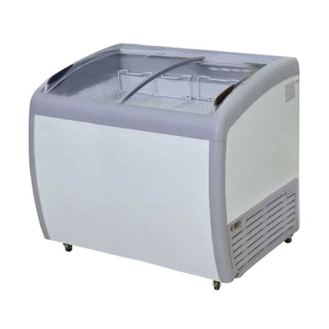 Freezer Gea Baru jual gea sd 260 by sliding curve glass freezer