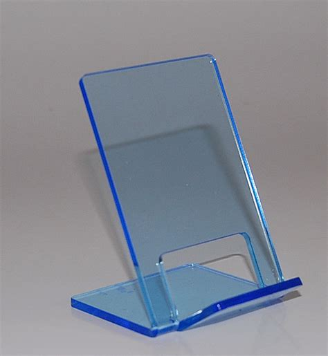acrylic stand funky neon brights acrylic mobile phone stand blue ebay