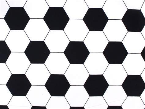 Balon Motif tissu en coton motif ballon de foot tissus hemmers fr