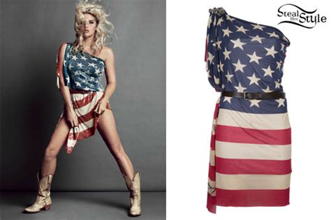 American Wardrobe by Patriotic Costumes On Katy Perry American