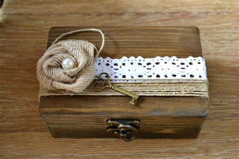 Wedding Ring Box Vintage by Wedding Ring Box Personalized Rustic Vintage Ring Holder