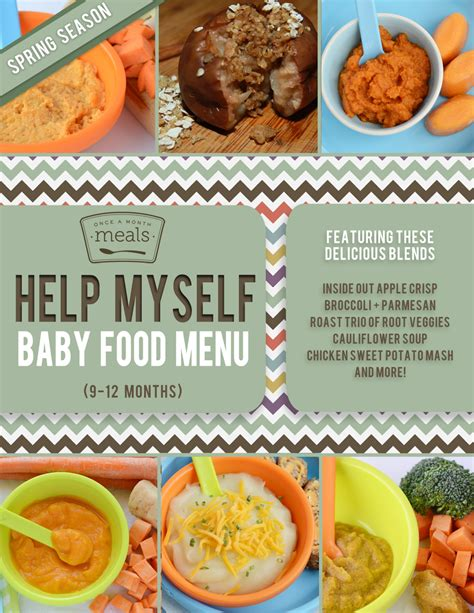 protein 8 month baby baby food 9 12 months menu once a month meals