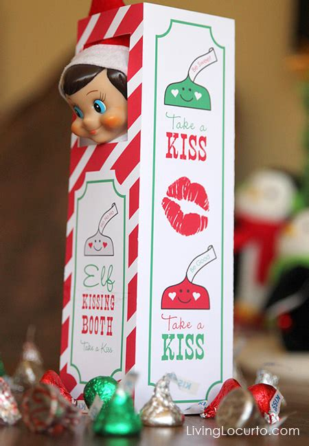 printable elf on the shelf kissing booth template 50 free christmas printables zurcher co he i