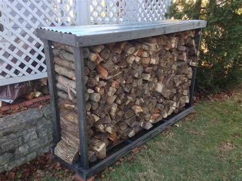 Firewood Rack Roof by The O Jays And Metal Roof On