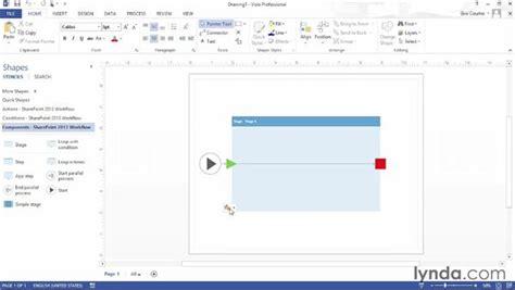 visio 2013 premium creating workflows with visio premium 2013