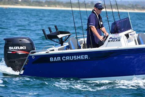 boats online brisbane new bar crusher 670xs trailer boats boats online for