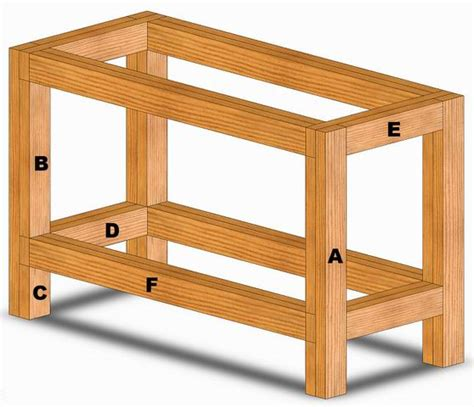 2x4 work bench workbench 2x4 houses plans designs