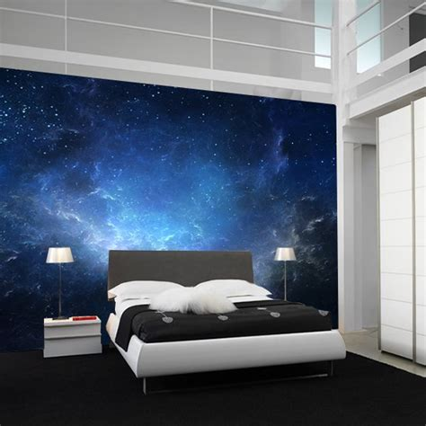 Bedroom Wallpaper Sky Fancy Sky Nebula Wall Mural Bedroom Ceiling
