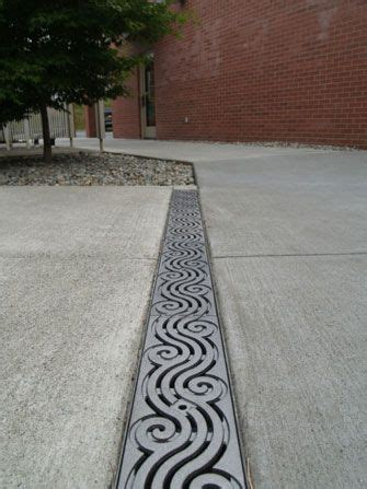 driveway drainage solution made in the usa iron age