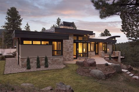 home design exteriors denver pine brook boulder mountain residence exterior modern