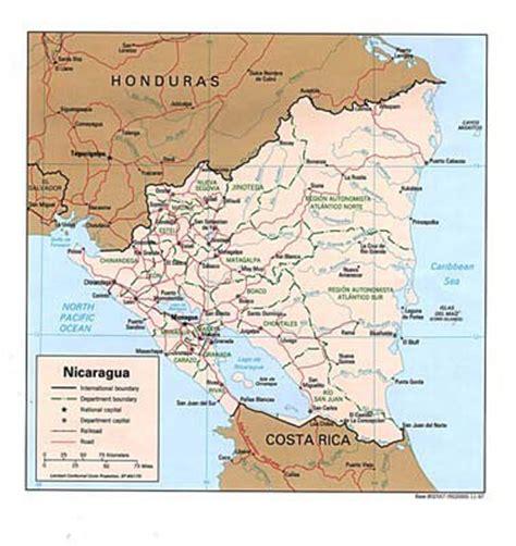 san jose nicaragua map american herald tribune marcela