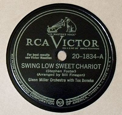swing low sweet chariot fisk jubilee singers roots vinyl guide