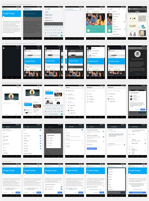 android developer layout design redesigning chrome android part 2 of 2 google design