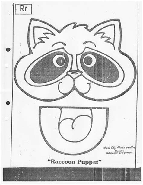 printable raccoon mask template racoon coloring pages printable templates racoon best