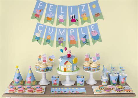 peppa pig fiesta de fiesta de peppa pig postreadicci 243 n cursos de pasteler 237 a galletas decoradas cortadores