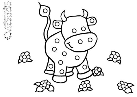 Coloriage Vache Gommettes Ma Tchou Team Coloriage Imprimer Disney Channel L