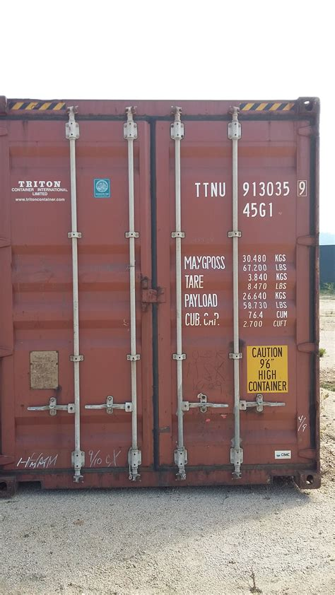 Vigo Container high cube container 40 hc vigo global container trading