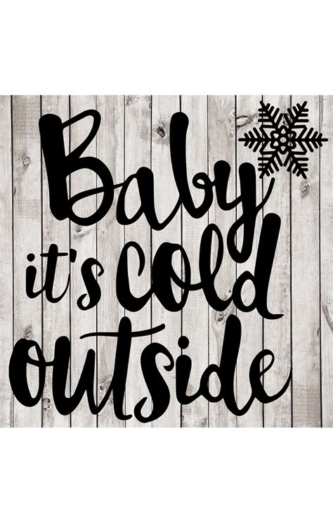 baby it s baby it s cold outside cut file new horizons designs