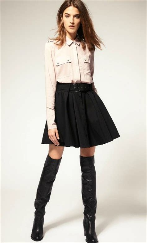 6 ways to wear knee high boots