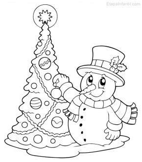arbol navidad dibujo infanti dibujos de navidad para colorear etapa infantil