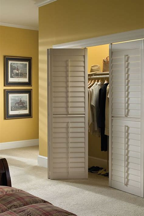 Closet Door Shutter K To Z Window Coverings Shutter Closet Doors