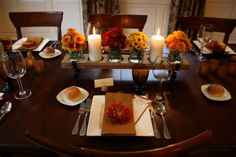 thanksgiving table settings the most thanksgiving table settings