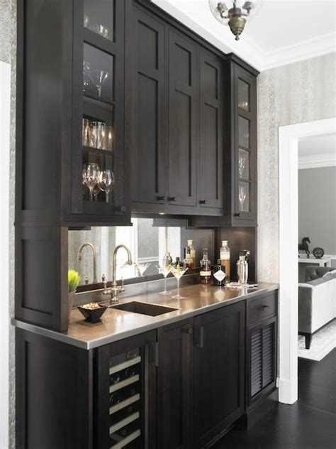 kitchen bar cabinet ideas bar ideas transitional kitchen christine donner