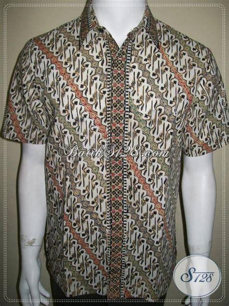 Batik Cap Parang Colet jual kemeja batik motif parang keren dan elegan ld342ctc