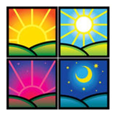 Outdor Morgen morgen tag abend nacht vektor abbildung illustration