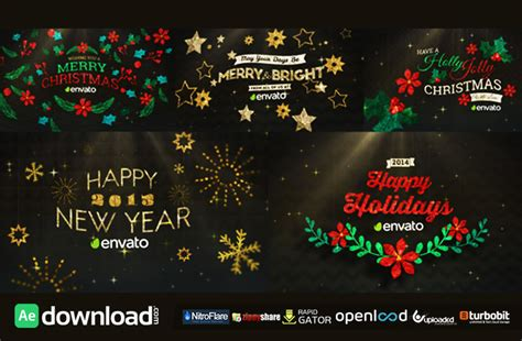 hanging holiday  pack   videohive project   effects template