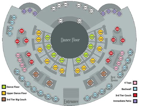 Xs Floor Plan | xs nightclub at encore las vegas free guest list table