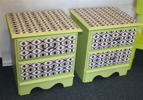 Decoupage Fabric On Wood Furniture - furniture fabric decoupage