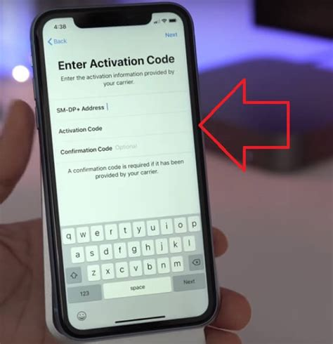 using qr or manually add cellular plan on iphone xs max xs