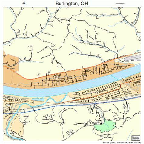 burlington map burlington ohio map 3910352